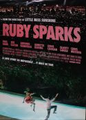 """Ruby Sparks (2012) - British one sheet film poster, starring Paul Dano and Zoe Kazan, rolled, 27"""""""