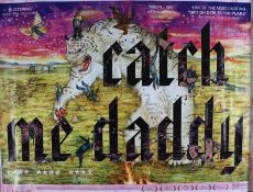 Catch Me Daddy (2014) - British Quad film poster, starring Sameena Jabeen Ahmed and Conor