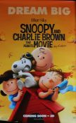 Snoopy and Charlie Brown: the Peanuts Movie (2015) - British one sheet film poster, portrait,