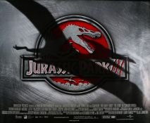 "Jurassic Park III (2001) - British Quad film poster, starring, rolled, 30"" x 40"""