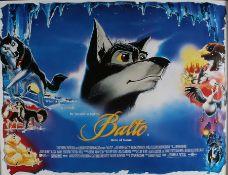 "Balto (1995) - British Quad film poster, rolled, 30"" x 40"""