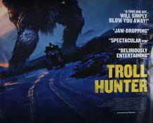 Troll Hunter (2010) - British Quad film poster, starring Otto Jespersen and Hans Morten Hansen,