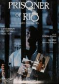 Prisoner of Rio (1988) - British one sheet film poster, starring Steven Berkoff and Paul Freeman,