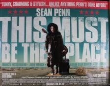 This Must Be the Place (2011) - British Quad film poster, starring Sean Penn and Frances
