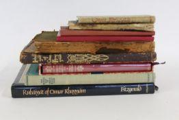 Rubaiyat of Omar Khayyam, four volumes, to include volume printed by Jarold & Son Norwich, volume