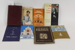 Books covering various subjects, to include history, religion, British Empire, royalty etc. (qty)