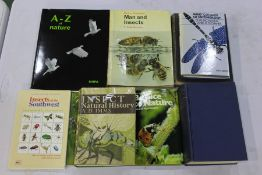 """Collection of nine entomology books, to include """"Insect Natural History""""- A.D. Imms, second"""