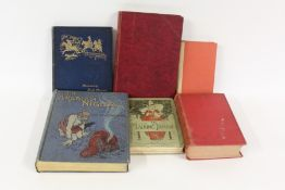 Volumes to include Breviarium Romanum, the Arabian Nights, The Chase by William Somerville Esq.