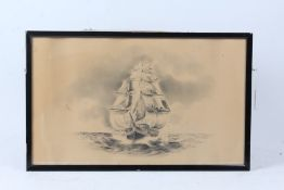 Pair of framed sketches by Helbert Wynn Hellings (1873-1948) Flatford Mill, signed, together with an