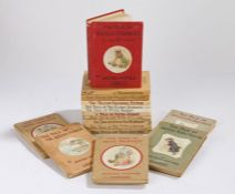 Beatrix Potter, to include The Tale of Mrs Tittlemouse, The Tale of Tom Kitten, The Tale of Jemima