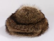Miss Alice for Lord and Taylor fur hat, circa 1970, housed in a Lord and Taylor hat box, Macy's