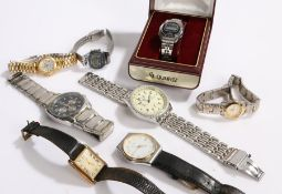 Wristwatches to include Yema, Imperia, Citizen, Suisse Ralph etc. (8)