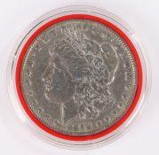 USA One Dollar, 1878, San Francisco, mint mark