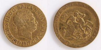 George III Sovereign, 1817