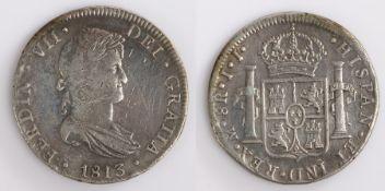 Spain, Ferdinand VII 8 Reales, 1813