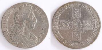 William III Crown, 1696, Cruciform shields