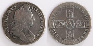 William III Crown, 1695, Cruciform shields