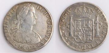 Spain, Ferdinand VII 8 Reales, 1802