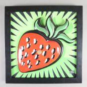 """Morris, Burton (*1964 Pittsburgh / USA)- """"Strawberry"""", Goebel, Artis Orbis, Pop-Art Reliefbild,"""