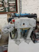 VINTAGE STAR WARS AT- AT WITH ORIGINAL BOX