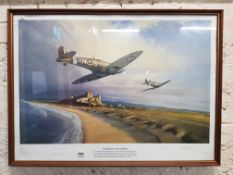 LARGE LTD EDITION SPITFIRE 'ENNISKILLEN' PRINT