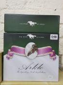 4 HORSERACING FIGURES IN ORIGINAL BOXES