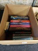 BOX OF TERRY PRATCHETT BOOKS