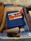 BOX OF IAN PAISLEY EPHEMERA TO INCLUDE SOME SIGNED
