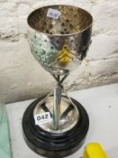 SILVER PLATED SIROCCO INTER DEPARTMENTAL CRICKET CUP 1947