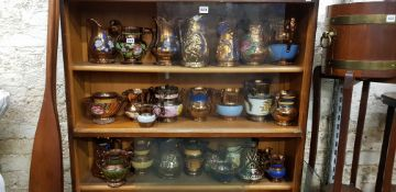 LARGE QTY OF LUSTRE WARE