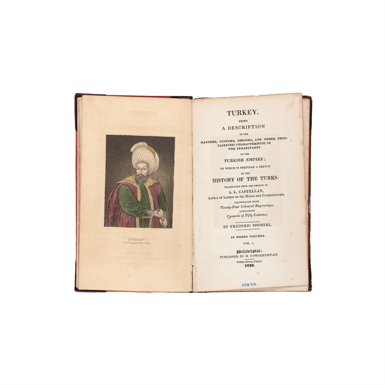 Antoine Laurent Castellan, Turkey, first American edition [Philadelphia, 1829]