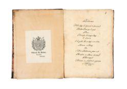 Ɵ Guido Bentivoglio, Relazione della fuga, in Italian, manuscript on paper [Italy, 17th century]
