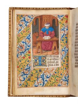 Ɵ Book of Hours, Use of Paris, in Latin, manuscript on parchment [Northern France (Paris), c. 1500]