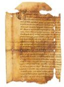 Ɵ Passio sanctorum Petri et Pauli, manuscript on parchment [Italy (probably Bobbio), 10th century]