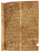 Matthaeus Platearius, De Medicinis, in Latin, manuscript on parchment [England or France, 12th centu