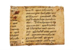Gregory the Great, Moralia in Job, in Latin, manuscript on parchment [Southern Italy, 11th century]