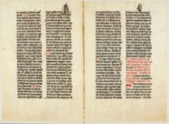Ɵ Missal, in Latin, decorated manuscript on parchment [Germany, fifteenth century]