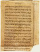 Ɵ Vita Sancti Stephani, in Latin, manuscript on parchment [Germany (perhaps Rhineland), c. 1100]