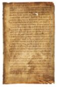 Ɵ Augustine, Sermones, in Latin, manuscript on parchment [Low Countries, 2nd half of 11th century]