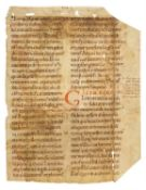 Ɵ Paul the Deacon, Homiliary, in Latin, manuscript on parchment [Germany, early 11th century]
