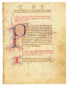 Ɵ Confraternity of the Archangel Michael, in Spanish, manuscript on parchment [Valencia, c.1400]