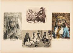 Ɵ Vast album of original photographs and post-cards [mostly Morocco, Tunisia and Algeria, c. 1908]