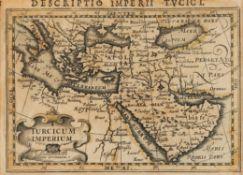 "Ɵ ""Descriptio Imperii Turcici"" printed on paper [Probably Amsterdam, c. 1606]"