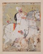 A nobleman on horseback [India (probably Kota), second half of eighteenth century]