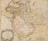 "Ɵ Brion. ""Perse, Turquie Asiatique et Arabie"", engraved map on paper [Paris, 1786]"