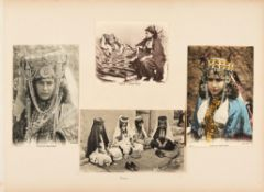 Ɵ Vast album of original photographs and post-cards [mostly Morocco, Tunisia and Algeria, c. 1908]