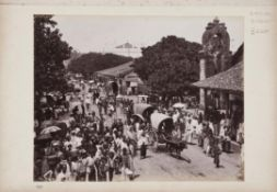 Early photography of Ceylon, including some by Scowen [Sri Lanka (Ceylon), c. 1890]