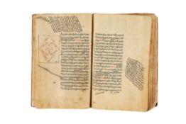 Ɵ Shara'i al-Islam fi Masa'il al-Halal wa al-Haram, on paper [Ardebil 1060 AH (1650 AD)]