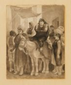 Frederick George, three illustrations for the Illustrated London News [Egypt, c. 1870]