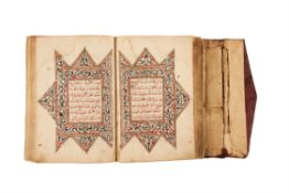 Ɵ Qur'an al-Karim, in Arabic, decorated manuscript on paper [Indonesia, late eighteenth century]
